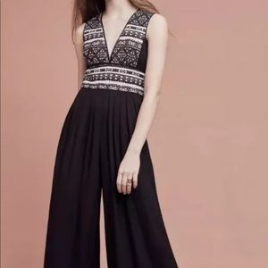 Anthropologie Pants - Anthropologie Woven jumpsuit size small